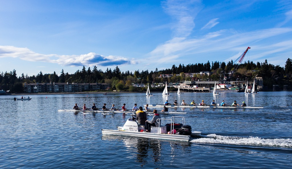Sailing, Rowing in Eagle Harbor, Bainbridge Island